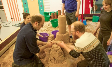 Two-Hour Sand Sculpture Workshop for One or two with Sand in Your Eye (Up to 50% Off)