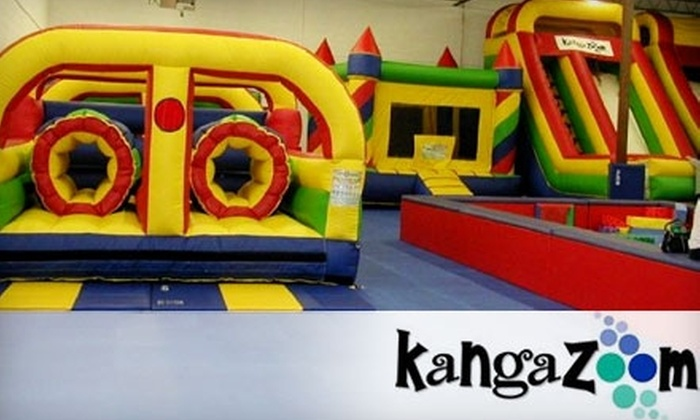 KangaZoom - Multiple Locations: 10-Visit Punch Card at KangaZoom in Smyrna. Choose from Two Options.
