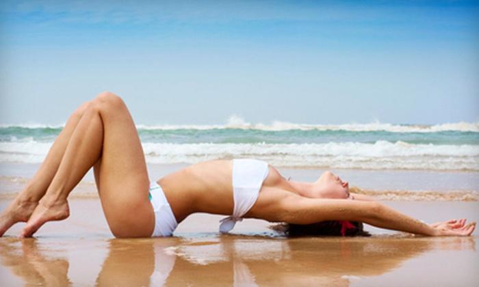 Desert Sun Tanning Salon - Pacific Beach: One Mystic Tan Spray Tan ($30 Value)