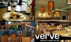 Verve Bistro and Cellar - Columbia City: $15 for $30 Worth of Wines and Gourmet Fare at Verve Bistro and Cellar