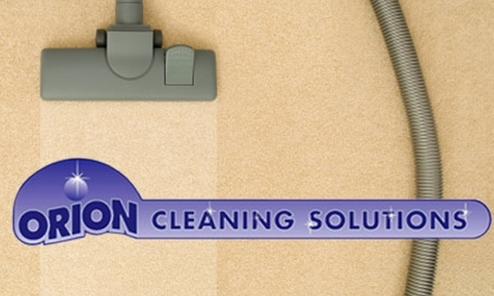 Orion Cleaning Solutions - Cleveland: $49 for a Three-Room Carpet-Cleaning Package from Orion Cleaning Solutions (Up to $135 Value)