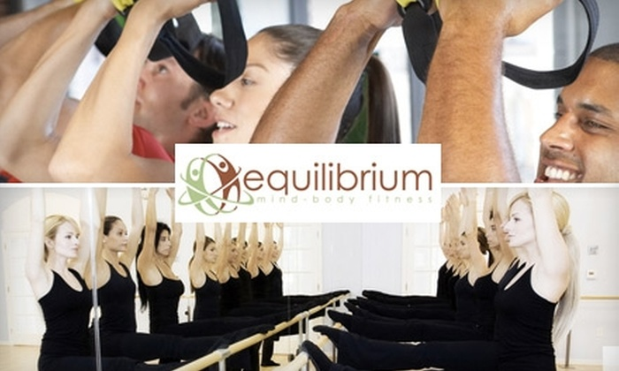 Equilibrium - Bloomfield Hills: $20 for Three Group Studio Classes at Equilibrium ($60 Value)