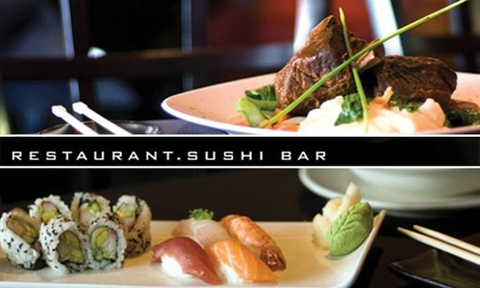 The Fish Houston - Midtown: $20 for $40 Worth of Succulent Sushi at The Fish Houston
