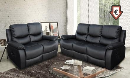 Sofá de masaje ECO-8200 reclinable 2 o 3 plazas desde 469 € (hasta 69% de descuento)