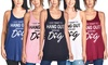 Women's I Just Want to Hang Out with My Dog Tank Top