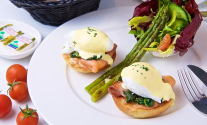 AED 60, AED 100 or AED 140 Toward Food at Delifrance Boulangerie & Bistro, Two Locations (50% Off)