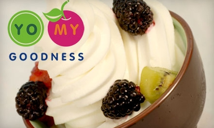 Yo My Goodness - Multiple Locations: $4 for $8 Worth of Frozen Yogurt at Yo My Goodness