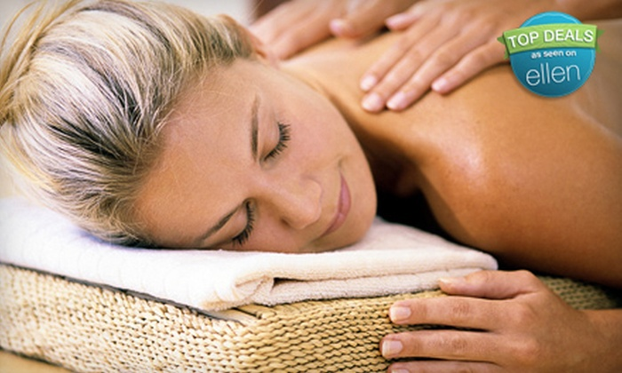 The Massage Suite - Lewisville-Flower Mound: $35 for a Massage Package with Peppermint Scrub, Cocoa Facial, or Heat Therapy at The Massage Suite (Up to $75 Value)