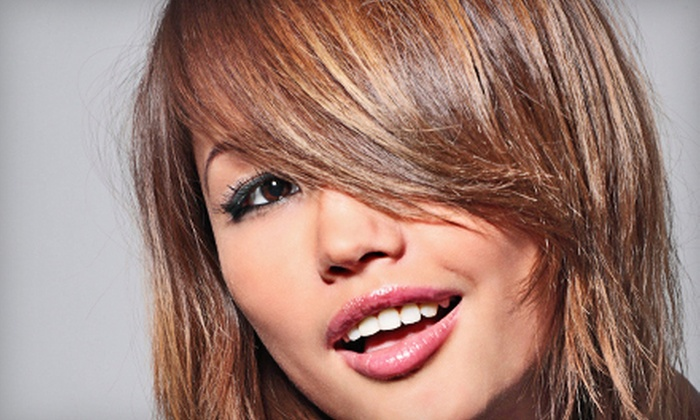 Allure Salon - Coconut Grove: Haircut Package with Deep-Conditioning Treatment and Optional Full or Partial Highlights at Allure Salon (Up to 84% Off)