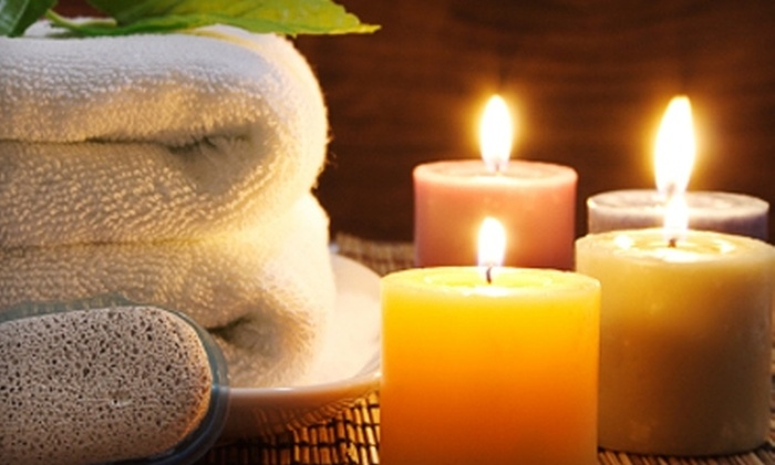 Merle Norman of Brentwood - Brentwood: $40 for an Aromatherapy Massage or Brazilian Wax at Merle Norman of Brentwood (Up to $85 Value)