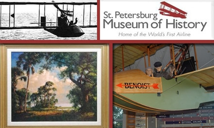 St. Petersburg Museum of History - St. Petersburg: $15 for an Individual Membership to the St. Petersburg Museum of History ($35 Value)