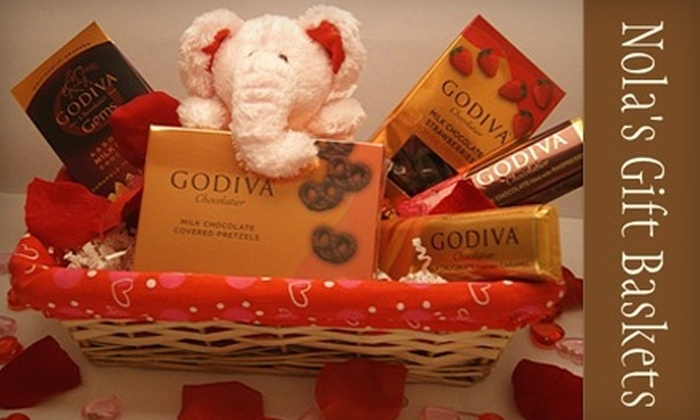Nola's Gift Baskets: $20 for $40 Worth of Gift Baskets from Nola's Gift Baskets