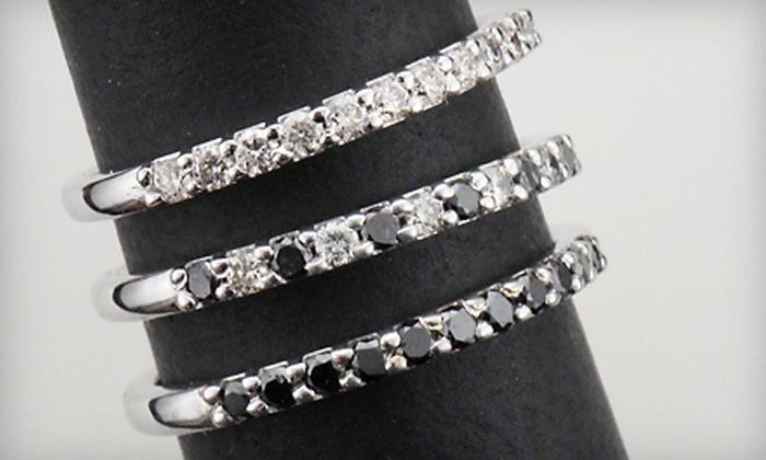 J. David Jewelry - Aspen Park Village: Diamond Anniversary Ring or Jewelry at J. David Jewelry in Broken Arrow (Up to 58% Off). Three Options Available.