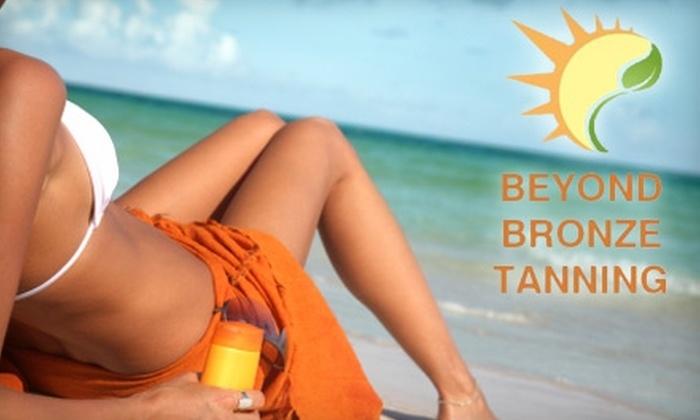 Beyond Bronze Tanning - Northwood: Choose Between Two Tanning Options at Beyond Bronze Tanning (Up to $62.99 Value)
