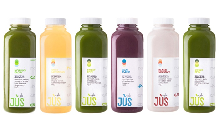 Jus by Julie: Three-Day Juice Cleanse for One or Two from Jus by Julie (Up to 39% Off). Shipping Included.