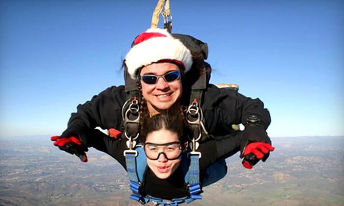Skydive San Diego - San Diego: $125 for 10,000-Foot Tandem Skydive from Skydive San Diego (Up to $209 Value)