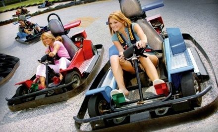 Boomers! at 1500 W 7th St. in Upland: 1 All-Day Ride Pass - Boomers! in Upland