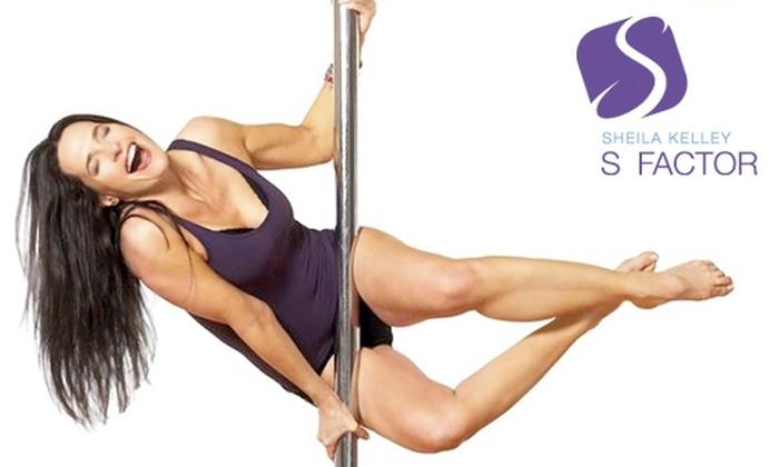 Sheila Kelley S Factor  - Encino: $45 for a Pole-Dance Class and a Lap-Dance Class at Sheila Kelley S Factor ($95 Value)