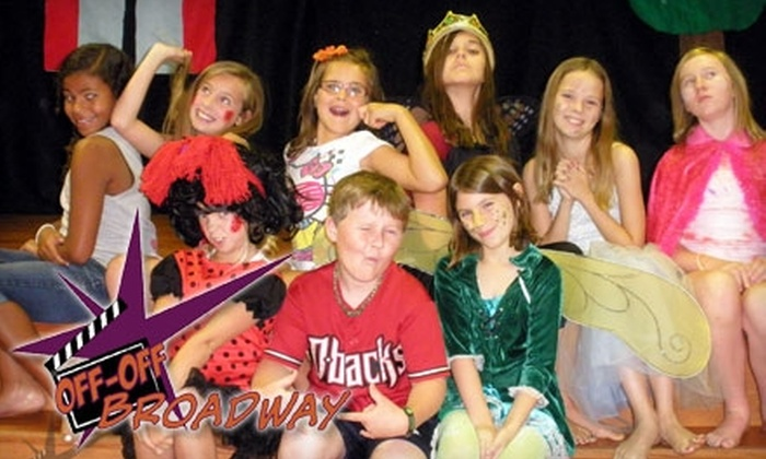 Off-Off Broadway - Deer Valley: $99 for Eight Weeks of Kids' Acting Classes at Off-Off Broadway ($225 Value)