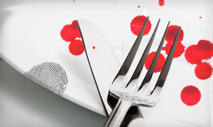 Funtime Theater's Dinner Murder Mysteries - Sparks: Two Tickets to Funtime Theater's Dinner Murder Mysteries at Hog Wild Café in Sparks. Three Shows Available.