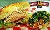 Bagel Boyz Deli - Southeast Arlington: $5 for $10 Worth of Bagels, Sandwiches, Coffee, and More at Bagel Boyz Deli in Arlington