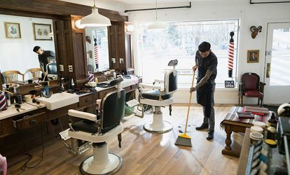 Up to Two Gents' Haircuts with Optional Finish and Colour at Marx Salon (Up to 57% Off)
