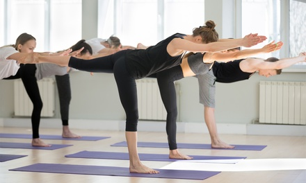 Five or Ten Yoga Class Passes for One or Two at In Balance Hot Yoga