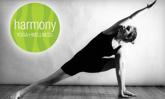 Harmony Yoga + Wellness - Des Moines: $30 for Five 75- or 90-Minute Classes at Harmony Yoga + Wellness ($75 Value)