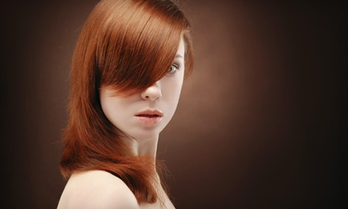 Amoy Couture Hair - Upper East Side: $59 for a Regular- or Director-Level Cut, Blow-Dry, Style, and Customized Conditioning Treatment at Amoy Couture Hair (Up to $295 Value)