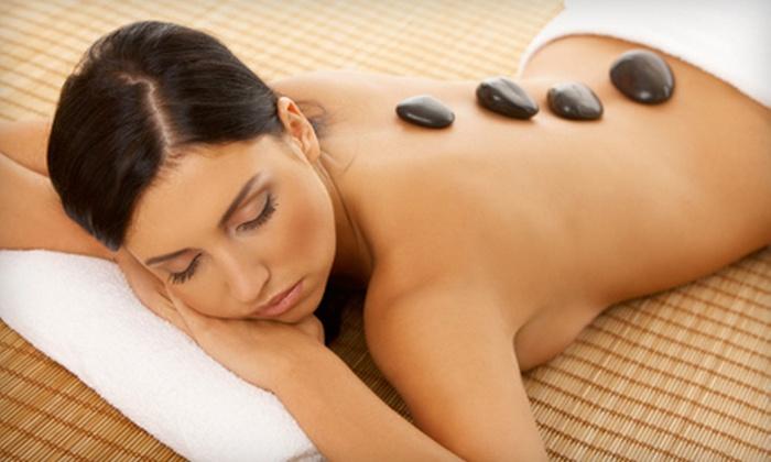 TLC Massage Therapy at Studio Glitz - Stanford: 60- or 90-Minute Swedish or Hot-Stone Massage at TLC Massage Therapy at Studio Glitz in Stanford (Up to 56% Off)