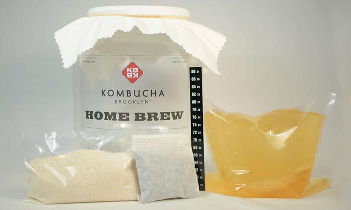 Kombucha Brooklyn: Kombucha Home-Brewing Supplies and Ingredients from Kombucha Brooklyn (Up to 57% Off). Two Options Available.