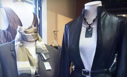 $30 Groupon to Sacks Designer Consignment Boutique  - Sacks Designer Consignment Boutique  in Hilton Head Island