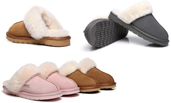 Unisex Muffin Scuff Slippers