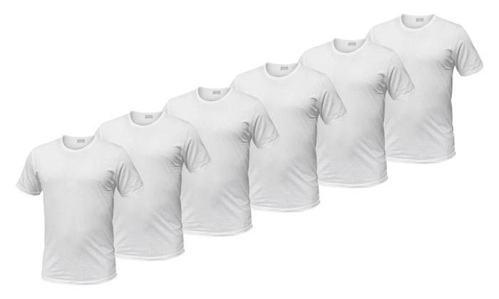 9a124a714f7a Pack 6 o 12 T-shirt uomo Liabel | Groupon Goods