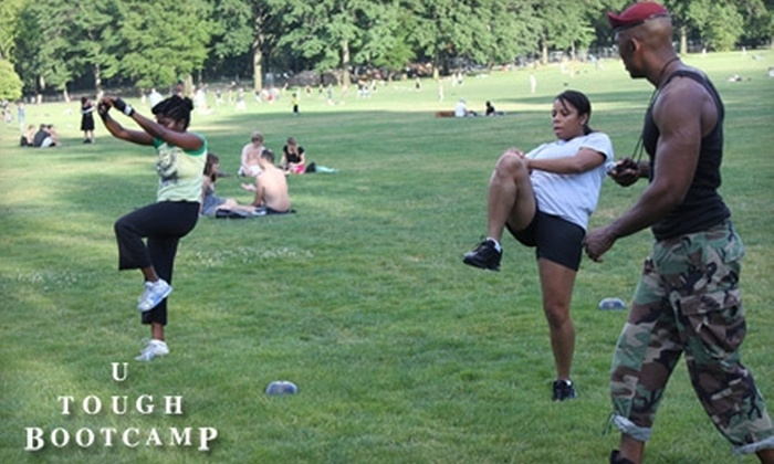 U Tough Bootcamp - Multiple Locations: $60 for Six Boot-Camp Sessions from U Tough Bootcamp in Multiple Locations ($150 Value)