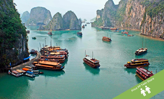 Vietnam: $299 Per Person for a Five-Day Tour of North Vietnam with Accomm and Guided Tours with Halong Tours Booking