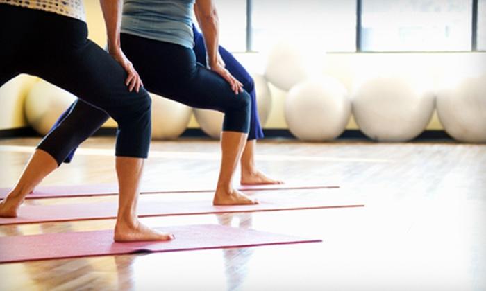 Open Doors Yoga Studios - Multiple Locations: $25 for Any Five Classes at Open Doors Yoga Studios ($75 Value)