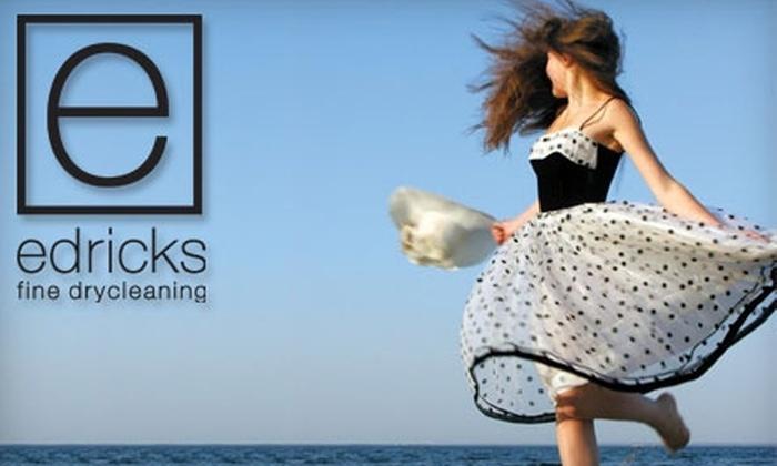 Edricks Fine Drycleaning - Farmington: $20 for $40 Worth of Dry Cleaning at Edricks Fine Drycleaning