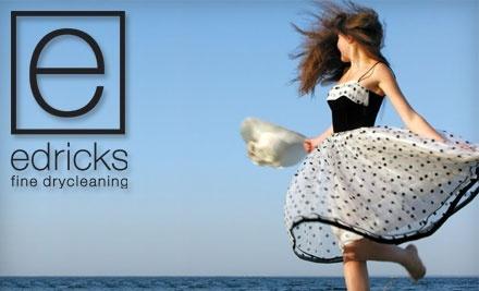 $40 Groupon to Edricks Fine Drycleaning - Edricks Fine Drycleaning in Hartford