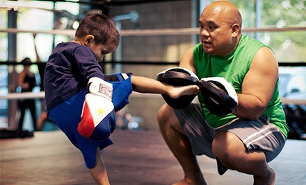 1 or 3 Months of Unlimited Kids' Boxing, Kickboxing, & MMA Classes at Art of Eight Training and Fitness Center (65% Off)