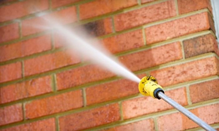 Under Pressure SC - Mount Pleasant: $49 for $100 Worth of Pressure-Washing Services from Under Pressure SC