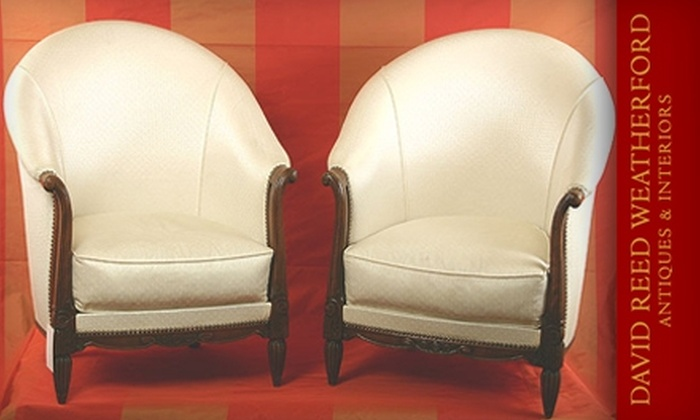 David Weatherford Antiques & Interiors - Broadway: $229 for $500 Worth of Antiques and Home Furnishings at David Reed Weatherford Antiques & Interiors
