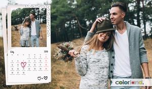 Colorland: Od 19,90 zł: 13-stronicowy fotokalendarz z Twoimi zdjęciami w różnych formatach do wyboru na Colorland.pl (do -81%)