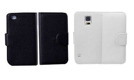 Magnetic Wallet Case for iPhone and SamsungPhones