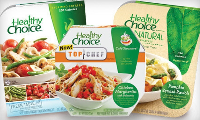 Albertsons - Collister: 5 or 10 Healthy Choice Meals at Albertsons (Up to 64% Off)