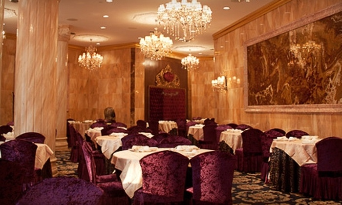 Crown Princess Fine Dining - Downtown Toronto: $25 for $50 Worth of Upscale Cantonese Cuisine and Drink at Crown Princess Fine Dining
