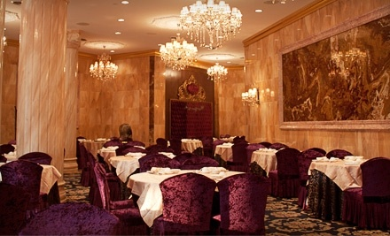 $50 Groupon for Dinner and Drinks at Crown Princess Fine Dining - Crown Princess Fine Dining in Toronto