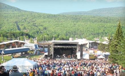 Bluestock Music Festival at Hunter Mountain Ski Resort on 8/26-8/28: Two 3-Day Festival Passes - Bluestock Music Festival at Hunter Mountain Ski Resort in Palenville