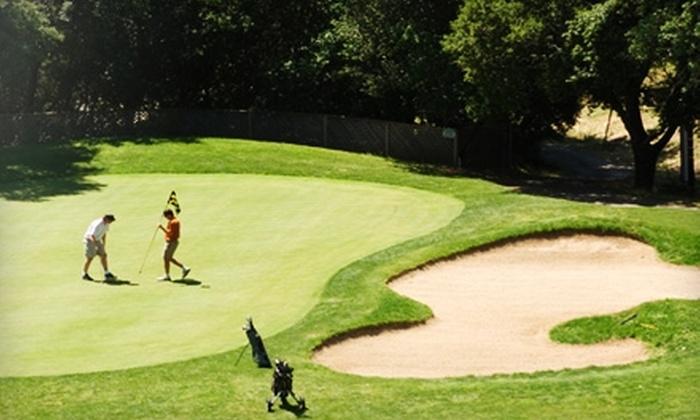 Healdsburg Golf Club - Healdsburg: $31 for Nine Holes of Golf with Cart Rental, Range Balls, Bottle of Wine, and More at Healdsburg Golf Club at Tayman Park