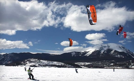 4-Hour Beginner Snowkiting Lesson (a $349 value) - Colorado Kite Force in Dillon